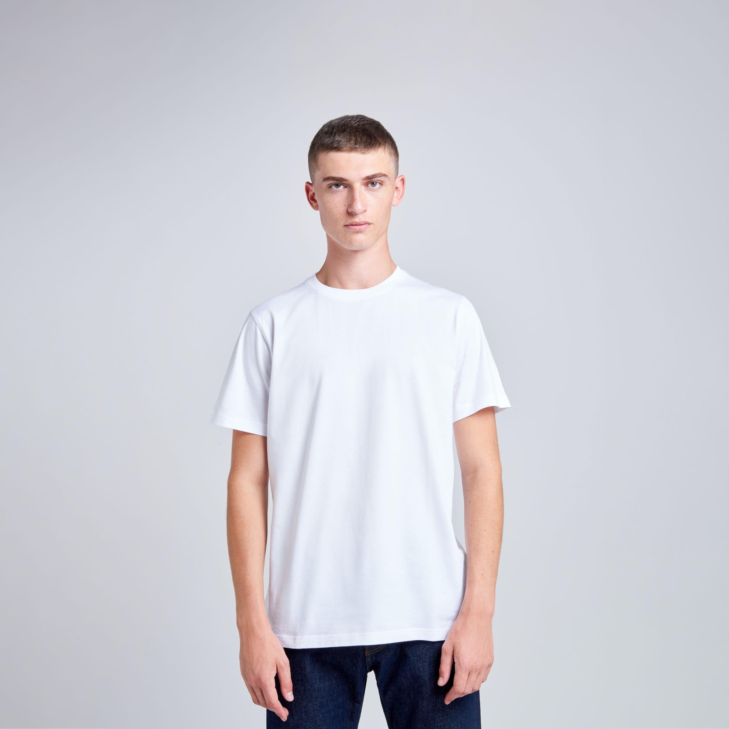 T-shirt manches courtes Niels standard Blanc